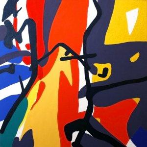 'Arm': Original painting by Jazamin Sinclair