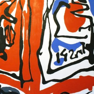 'Hot Pepper Sauce': Original painting by Jazamin Sinclair