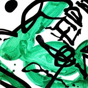 'Peidiwch â (Recycling)': Original painting by Jazamin Sinclair