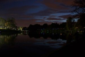 Sefton Park At Night, Photograph by Jazamin Sinclair