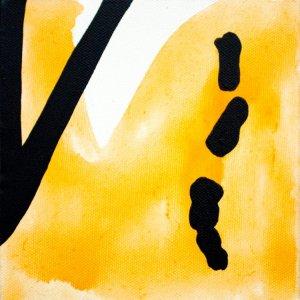 Improvathon2012, No. 11. Curtain 2; Acrylic On Canvas; £33.50; 15cm x 15cm.
