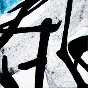 Improvathon2012, No. 19. Herbs & Shadow; Acrylic On Canvas; £33.50; 15cm x 15cm.