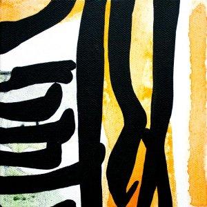 Improvathon2012, No. 4. Lemon Curd; Acrylic On Canvas; £33.50; 15cm x 15cm.