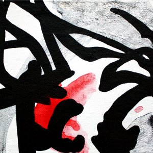 Improvathon2012, No. 7. Sound Jack; Acrylic On Canvas; £33.50; 15cm x 15cm.