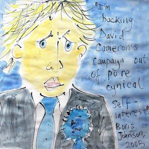 Boris Johnson on backing David Cameron's campaign (by Jazamin Sinclair)