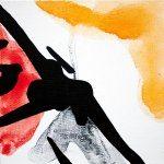 Improvathon2012, No. 17. Peeler 2; Acrylic On Canvas; £33.50; 15cm x 15cm.