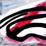 Improvathon2012, No. 26. Scissors 1; Acrylic On Canvas; £33.50; 15cm x 15cm.