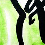 Improvathon2012, No. 5. Material 1?; Acrylic On Canvas; £33.50; 15cm x 15cm.