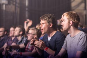 Crowd at Liverpool Music Week