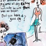 Pyjamas & hobnobs by Jazamin Sinclair