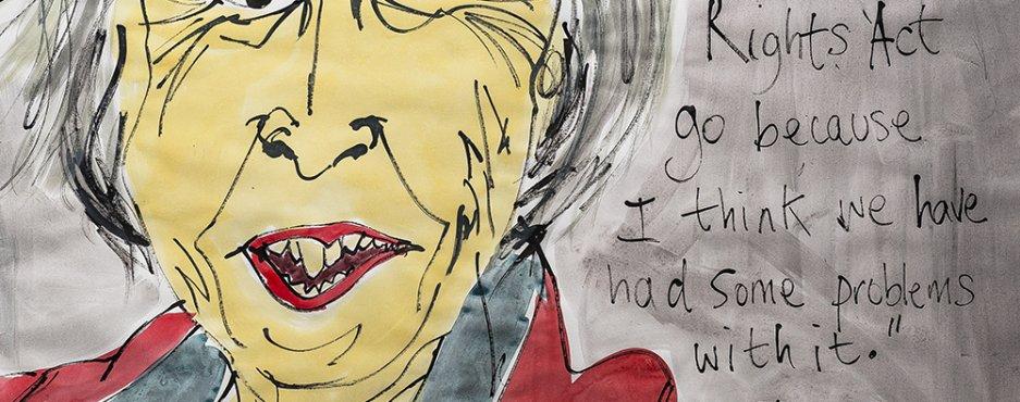 Words: Political Illustrations