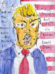 Donald Trump on Politics (by Jazamin Sinclair)